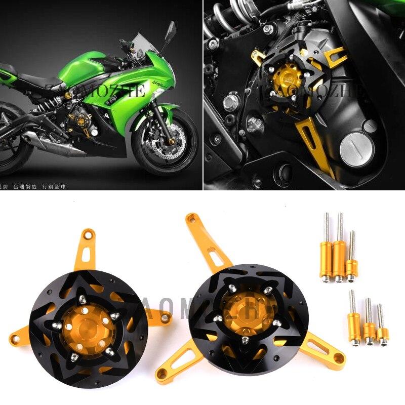 Для kawasaki Versys 650 2015 2016 Versys650 двигатель мотоцикла статора ЧПУ двигатель защитный кожух протекторы