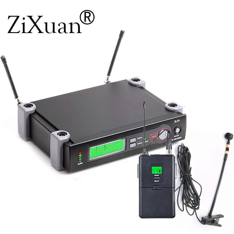 Senhneiser UHF Wireless Instrumen Mikrofon Klip MIC Sistem untuk Alat Musik Gitar Saxophone. Tahap Kinerja