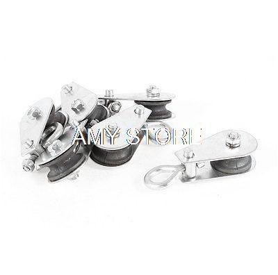 0.03T 30kg Single Ring Lifting 17mm Hook Dia Crane Pulley Block