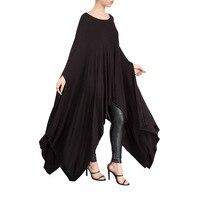 Summer New Pattern European Cloak Woman Irregular Women's Dress Clothing