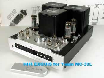 YAQIN MC-30L EL34 Push-Pull Tube Amplifier HIFI EXQUIS 6CA7 Lamp Integrated Amp with Headphone Output Remote MS-20L - DISCOUNT ITEM  18% OFF All Category