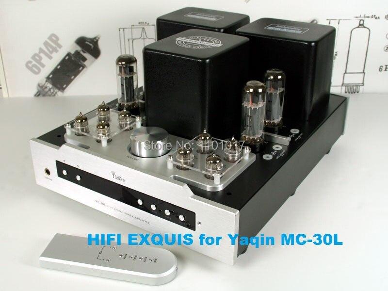 YAQIN MC 30L EL34 push pull ламповый усилитель HIFI EXQUIS 6CA7 ламповый Интегрированный усилитель с выходом для наушников Пульт дистанционного MS 20L|control rfid|amplifier knobamplifier parts | АлиЭкспресс