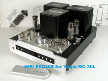 YAQIN MS-30L EL34 push pull Tube Amplifier HIFI EXQUIS Integrated  lamp amp headphone output remote