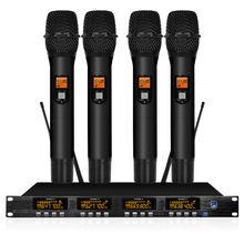 Uhf функциональный микрофон система памяти на профессиональной