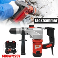 1480W Multi function Electric Hammer Drill Impact Drill Electric Hammers Power Drills high power industrial power tools