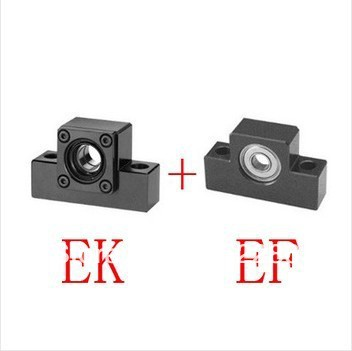 3pairs/lot EK10/EF10 end supports bearing Fixed side EK10 and Floated side EF10 for screw shaft 3pairs lot fk25 ff25 ball screw end supports fixed side fk25 and floated side ff25 for screw shaft page 2