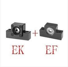 3 пар/лот EK10/EF10 конец поддерживает с Фиксированной боковой EK10 и Поплыл На стороне EF10 для вала винта
