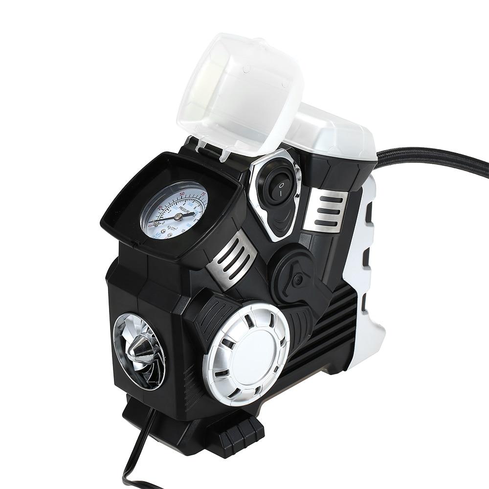 Image 2 - Автомобильный воздушный компрессор постоянного тока 12 В, портативный насос, насос для шин, светодиодный, цифровой дисплей, до 150 фунтов/кв. дюйм, для автомобиля, велосипеда, внедорожника, лодки-in Воздушный насос from Автомобили и мотоциклы on AliExpress - 11.11_Double 11_Singles' Day