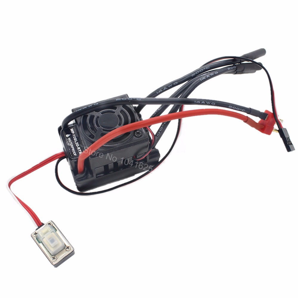 Waterproof 50a Brushless Esc Speed Controller Wp 10bl50 Rtr Hsp Turnigy Wiring Diagram Aeproduct
