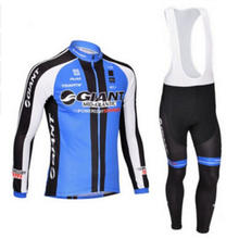 New 2017 Jersey Sets Long Sleeve Cycling Jersey Men's Outdoor Cycling Wear / cycling clothing silica gel pad package XS TO 5XL