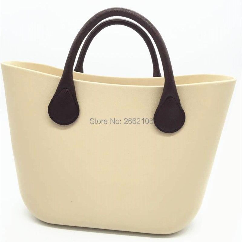 Mini Mid size bag handles for Obag O bag style AMbag with black and brown handles