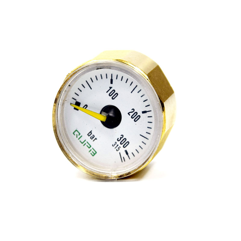 28MM ED Manometer PCP Airforce Mini Pressure Gauges  315 BAR 1/8BSP M10Thread