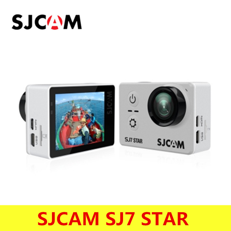 Original SJCAM SJ7 Star 4K 30fps Ultra HD SJCAM Action Camera Ambarella A12S75 2.0 Touch Screen 30M Waterproof Remote Sport DV