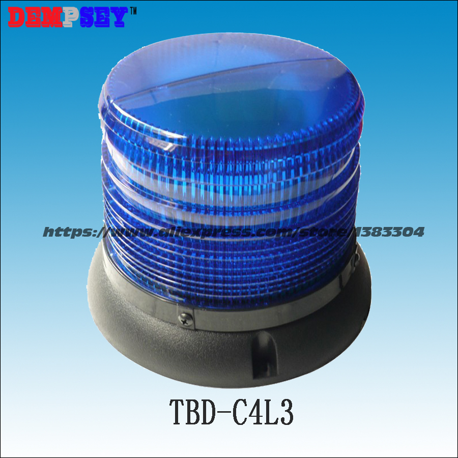 TBD-C4L3 Round Ceiling,emergency Warning Light,Ambulance/police/ Vehicle Top Roof Blue LED Magnetic Flashing Strobe Lights
