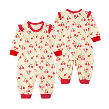 Hot  Sale  Baby Autumn Rompers Infant  Long-sleeved  O-neck  Jumpsuits Baby Cotton  Clothes Rompers For Infant Boys And Girls mikistory fashion baby lion costumes long sleeves infant cosplay clothes cotton cute cartoon rompers hooded boys girls jumpsuits