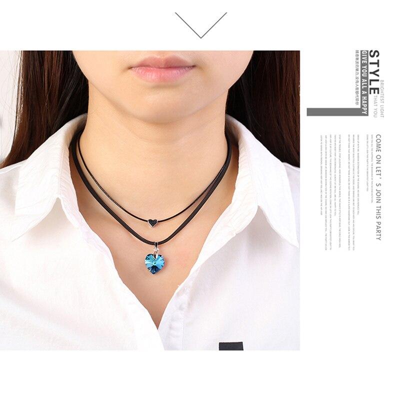 cc917a0910e1 Personalizado nombre personalizado collar de cadena de acero inoxidable infinito  corazón placa collares par amor joyería