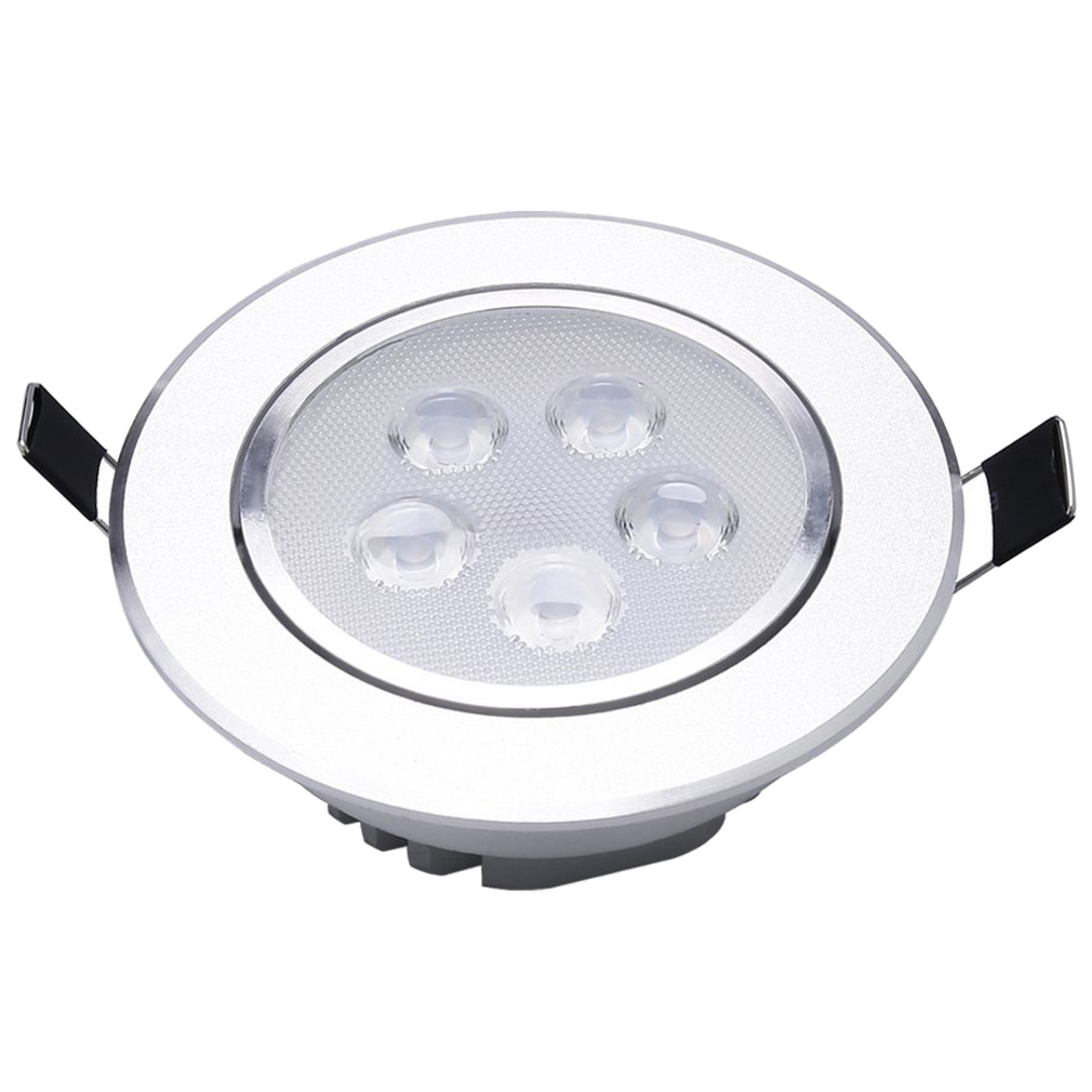4 x White LED Recessed Ceiling Lamp 5W 6500K