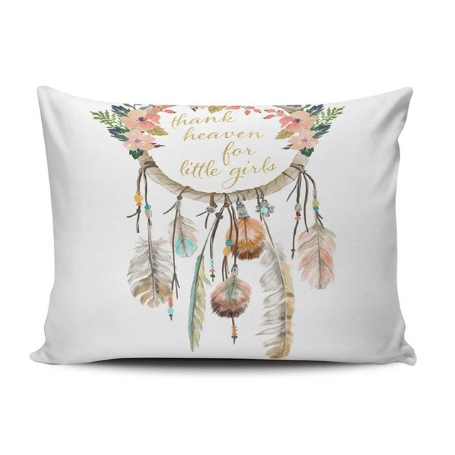 Boho Dreamcatcher Cushion Cover