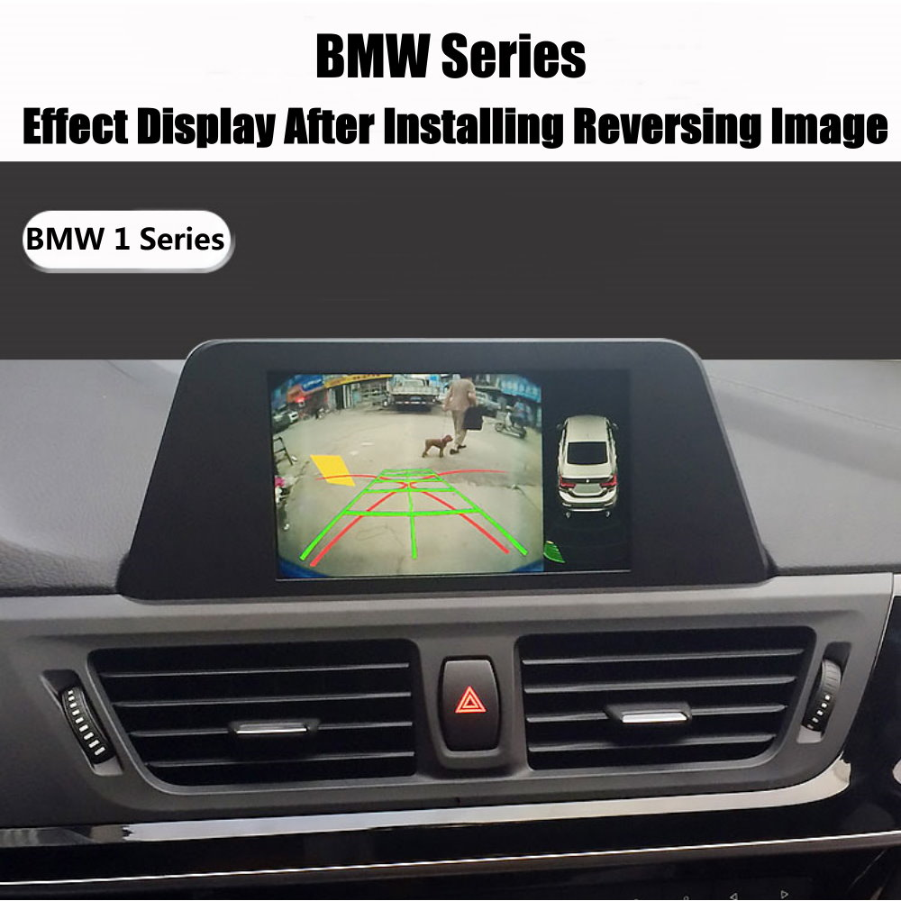 Liandlee For BMW 1 120i 135i 640i E81 E87 F20 HD Decoder Box Rear Reverse Parking Camera Image Car Screen Upgrade Display Update 5