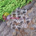 Free Shipping 20mm transparent Acrylic Beads In Beads Disco Ball 100pcs/Lot For Chunky Necklace Jewelry