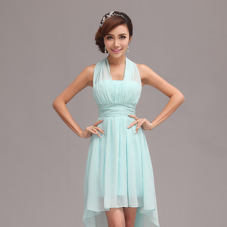 mint Bridesmaid Dresses 2015 new style Short design Tube ...