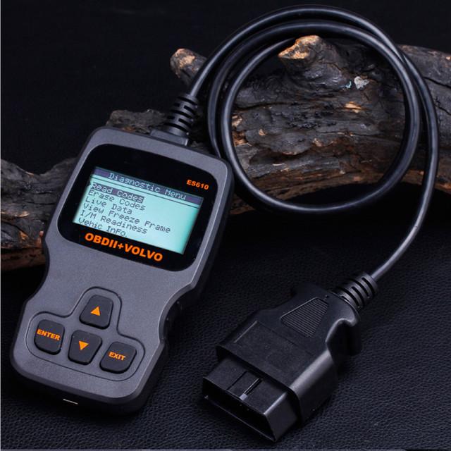 ES610 OBDII Code Reader And Automotive Diagnostic Sc Suitable For Full Function Backlit Multi-language Selection