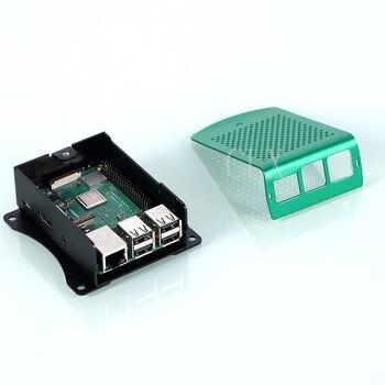 100 Pcs / Raspberry Pi 3 Aluminum Case Metal for RPI 3 Model B Compatible with Raspberry Pi 3 Model B + 1