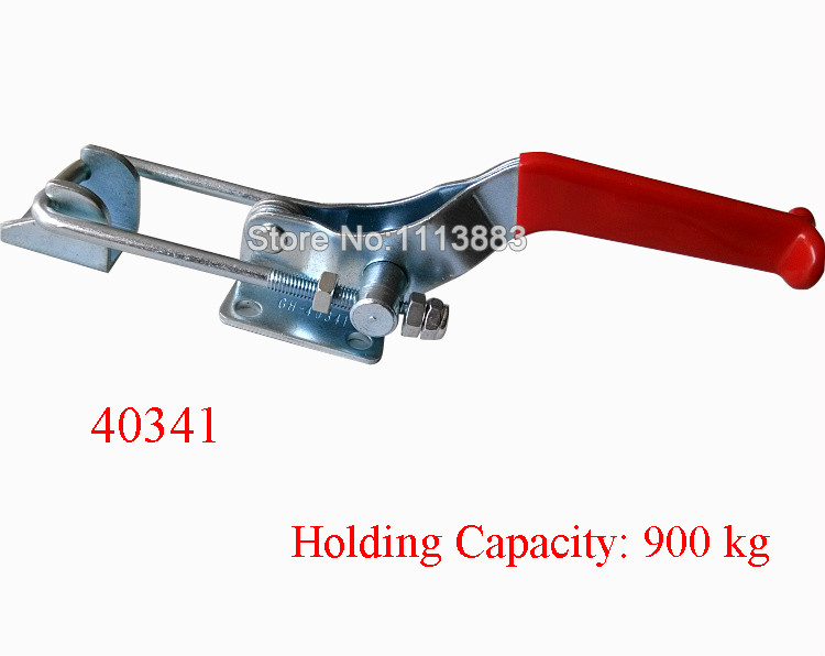 900KG 1984LBS Adjustable U Shape Latch Type Toggle Clamp 40341 in Clamps from Home Improvement