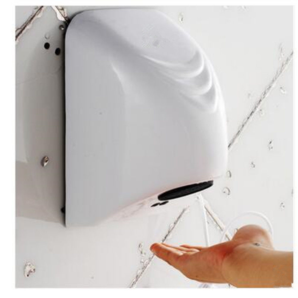 цена на Automatic Hand Dryer Wall-mounted Electric Induction Commercial Bathroom Washroom Wind Blower