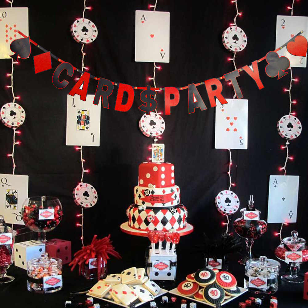 Detail Feedback Questions About Card Party Letter Banner Red And