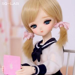 Image 2 - OUENEIFS SQ Lab Chibi Tsubaki 31cm 1/6 BJD SD Resin Model Baby Girls Boys Dolls Eyes High Quality Toys Shop Figures Gifts
