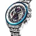 Venta directa Multifunción Deportes Relogio masculino Impermeable de Acero Inoxidable Reloj de Cuarzo Original Pagani Diseño Marca