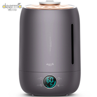 Deerma humidifier 5L large capacity Touch temperature Intelligent constant humidity office bedroom Aromatherapy humidification