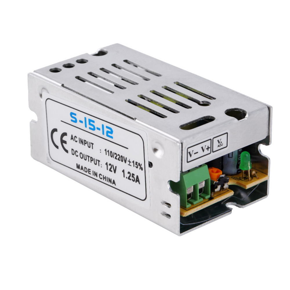 AC 110/220V Switching Power Regulated Transformer Power Supply For LED Light Free Shipping