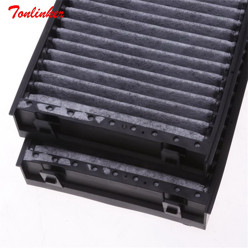 Image 5 - Car Cabin Air Filter Fit For BMW E70 X5 3.0si 4.8i E71 X6 xDrive35i 3.0 4.0 xDrive40i xDrive50i 4.4T Model 2008 2009 2014 Filter-in Cabin Filter from Automobiles & Motorcycles