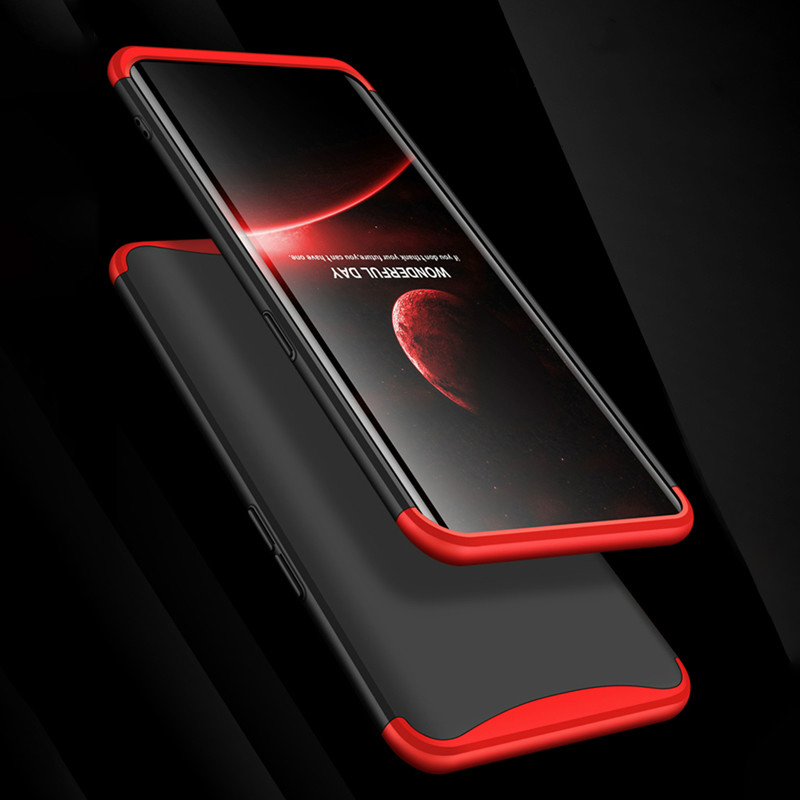 360 Full Protection Case For OPPO F9 Find X R11 R15 Case Shockproof 3 In 1 Matte Hard PC Back Cover Cases