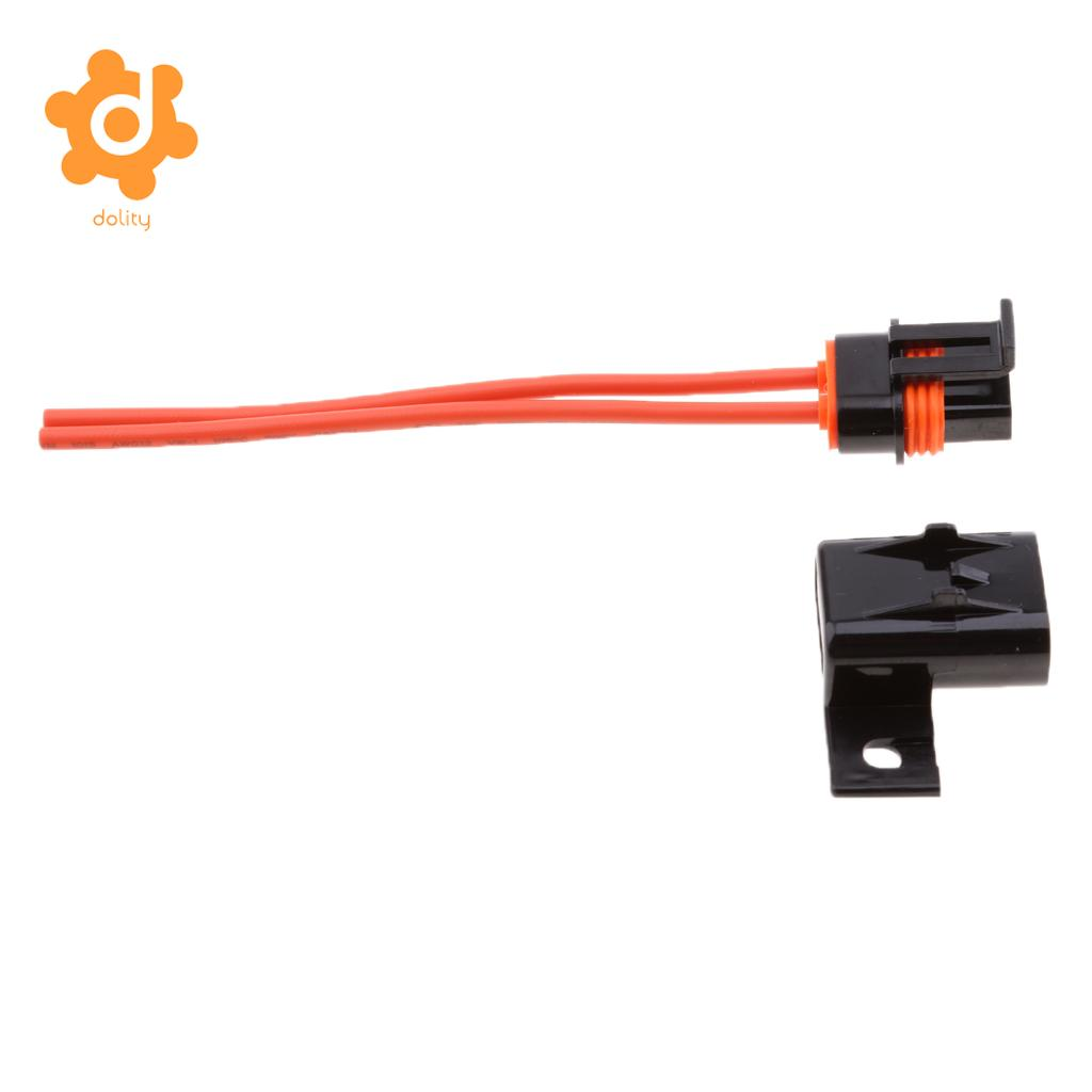 hight resolution of car truck boat ato atc blade fuse 12 gauge 2 wire harness holder with cover