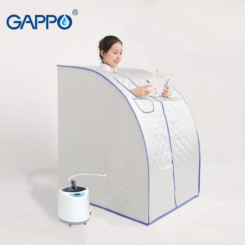 GAPPO Sauna A Vapore sauna portatile per la pelle Benefico di sauna a infrarossi Sauna A Casa Camere da bagno SPA con il sacchetto scatola coperta spa