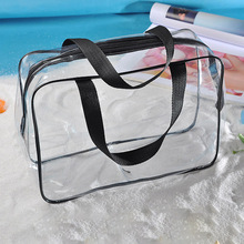 Portable Clear Travel Cosmetic makeup organizer Bag Storage Bags Women Transparent Clear Zipper Makeup Bags hot sale fashion female cosmetic bag beauty case women clear waterproof storage makeup bags travel portable clutch fashion tools