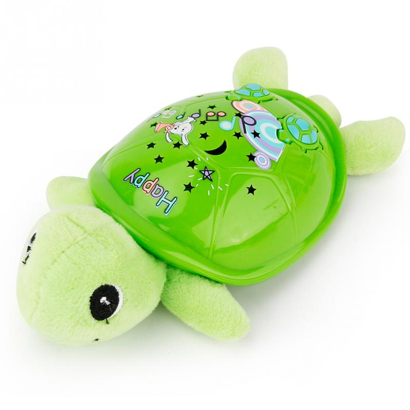 Plush Toys For Babies Electronic Musical Turtle Toy With Flashing Light Creative Musical Toy Cute Turtle Toy For Children