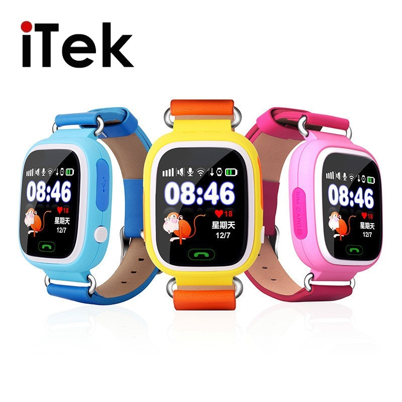 TK46 GPS Touch Screen WIFI Positioning Smart Watch Children SOS Call Location Finder Device Tracker Kid