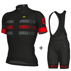 2018 ALE Cycling Clothing Breathable Summer Cycling Jersey Set Quick-Dry MTB Bike Clothing Bicycle Clothes Cycling