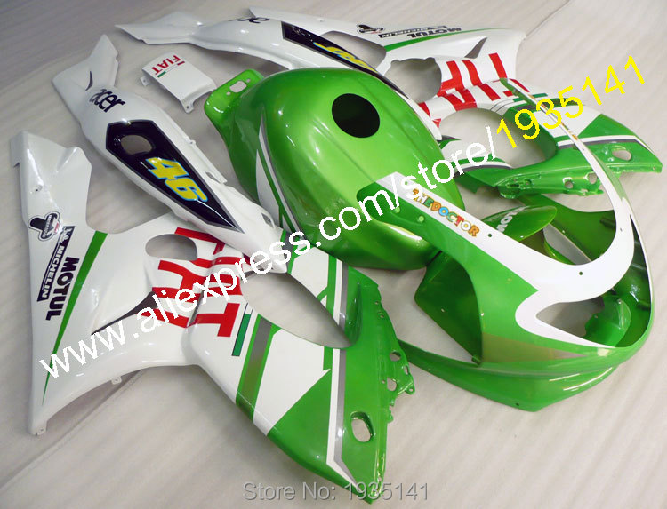 Hot Sales,White green ABS fairing bodywork kit For Yamaha YZF600R Thundercat 1997-2007 YZF 600R 97~ 07 Motorbike parts Yzf 600 R almeria кардиган