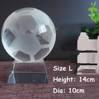 2018 Newset Champions League Trophy Football Souvenir Basketball Volleyball Soccer Rugby Crystal Can Customized ww2
