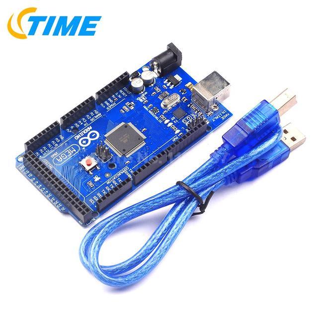 Mega 2560 ATmega2560-16AU Board + Cabo USB Livre FRETE GRÁTIS/Melhor Preço!!!!!
