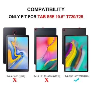 Image 2 - Чехол AROITA для планшета Samsung Galaxy Tab S5E 10,5 дюйма (SM T725/T720), съемный защитный чехол с беспроводной Bluetooth клавиатурой