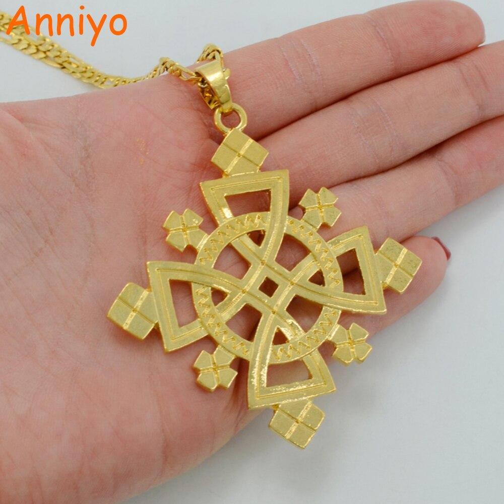 daa0803a08d93 Real Gold Ethiopian Cross Pendant - Pendant Design Ideas
