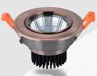 מחיר סיטונאי ניתן לעמעום 10W15W כיכר מוארת סופר אור ספוט COB Led Downlight שקוע תקרה למטה אור AC110V/AC220V