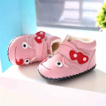 Baby First Walker Shoes Winter Newborns Girl Slippers Home Babies Light Cute Footwear Warm Infantil Leather Babe Shoes 60A1008