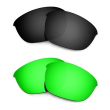 HKUCO Mens Replacement Lenses For Oakley Flak 2.0-2 pair RlD5Phta